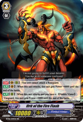 Ifrit of the Fire Flash