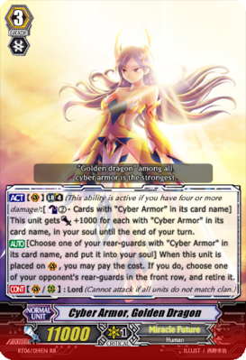 Cyber Armor, Golden Dragon