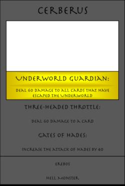Cerberus Card