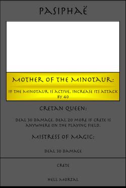 Pasiphaë Card
