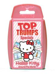 Toptrumps hellokitty aroundtheworld