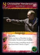 Christopher Henderson - Jack's Mentor (D0)