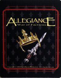 Allegiance back