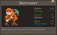 Burrower