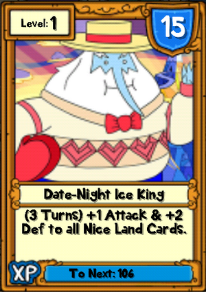 Date-Night Ice king Hero Card