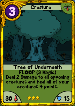 Tree of Underneath Gold