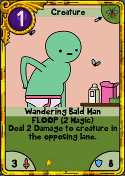 Wandering Bald Man Gold