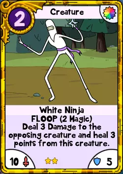 White Ninja Gold