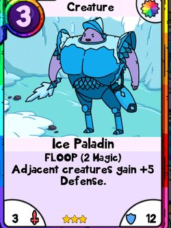 Ice. Paladin