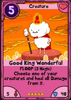 Good King Wonderful