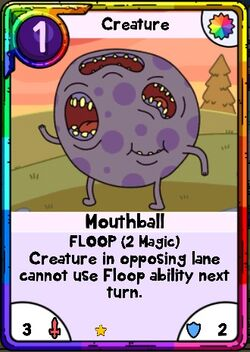 Mouthball