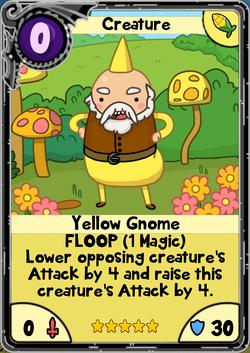 Yellow Gnome