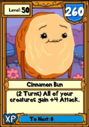 Super Cinnamon Bun Hero Card