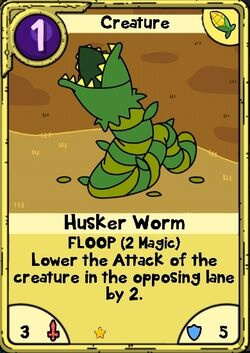 Husker Worm