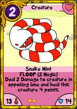 Snake Mint Gold