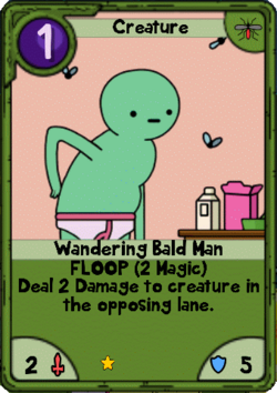 Wandering Bald Man