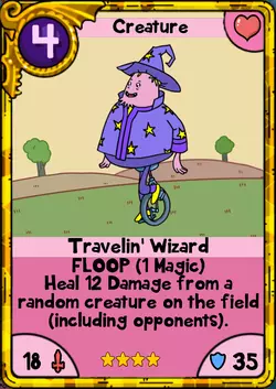 Travelin' Wizard Gold