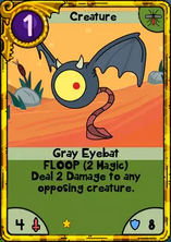 Gray Eyebat Gold