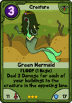 Green Mermaid