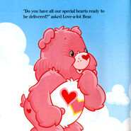 Love-a-Lot Bear story page