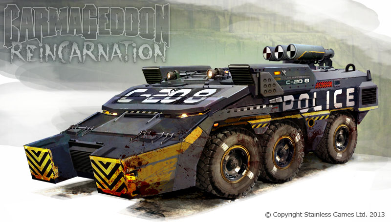 Carmageddon Ii >> The Cops Special Forces | Carmageddon Wiki | FANDOM powered by Wikia
