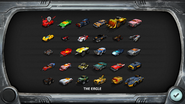 Droid choose car screen