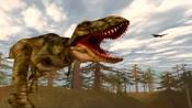 Tyrannosaurus roar