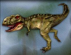 Carnivores Tyrannosaurus target zone