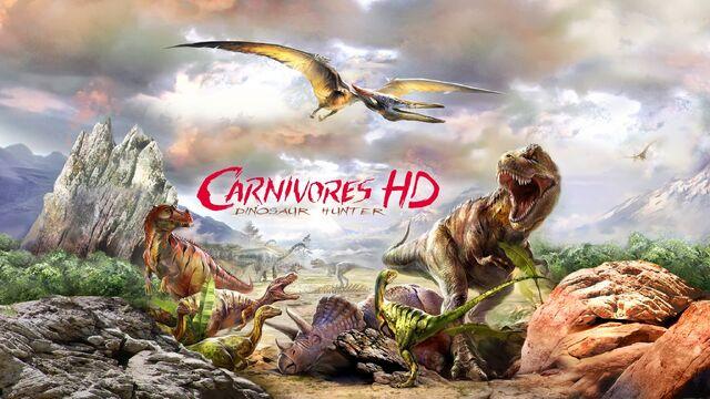 File:Carnivores Dinosaur Hunter HD promo.jpg