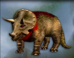 Carnivores Triceratops target zone