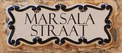 Marsala Street sign