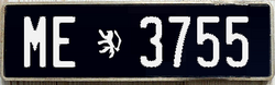 1970S LICENSE PLATE