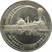 10 thalers 1989 railway