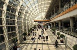 KIA terminal interior