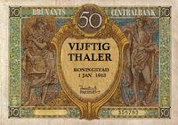 50 thalers 1913