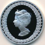 10 thalers 1975 queen elisabeth