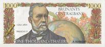 1000 thaler specimen