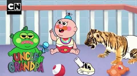 Uncle Grandpa Babies Uncle Grandpa I Cartoon Network
