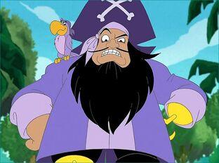 Purple pirate paul snip