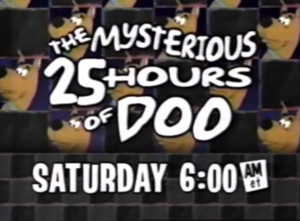 The Mysterious 25 Hours of Doo Logo