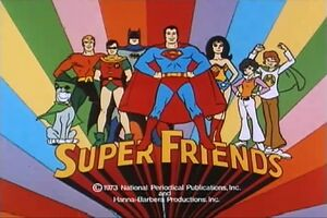 The superfriends 1973 - 1974