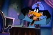 Daffy as a gypsy