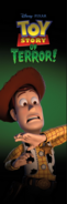Toy Story of Terror Poster 2 - Woody