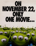 Toy Story 1 Poster 9 - Aliens