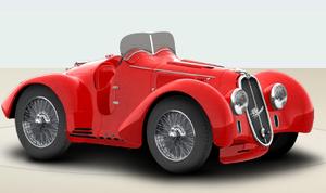 1936 Alfa Romeo 8C 2900 B Spider