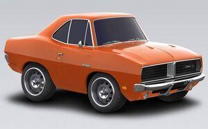 Dodge Charger RT HEMI 1969