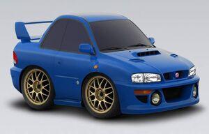 Subaru Impreza STi 22B 1993