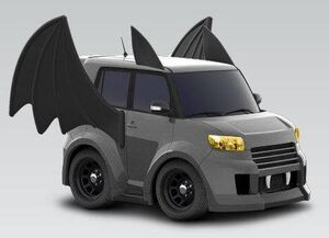 2012 Scion xB Bat