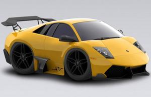 2009 Lamborghini Murcielago LP 670-4 Superveloce