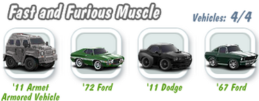 Fast and Furious Muscle Collection